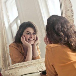 reflectie van jezelf